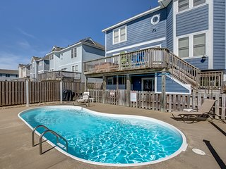 Tipsy Turtle | 595 ft from the beach | Private Pool, Hot Tub | Nags Head
