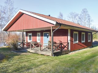 Awesome home in Holmsjo w/ Sauna and 3 Bedrooms (S03152)