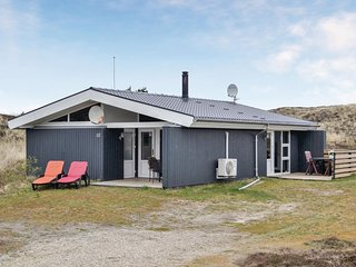 Beautiful home in Hvide Sande w/ WiFi and 3 Bedrooms (P62664)