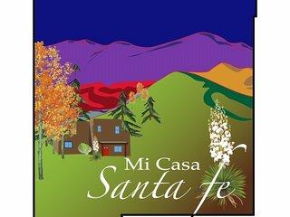 Mi Casa Santa Fe (Quiet, Easy Access to I25 and Santa Fe Plaza)