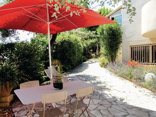 Awesome home in Pignan w/ 1 Bedrooms (FLH070)