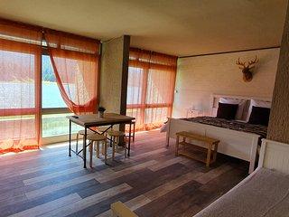 Grande chambre d'hôtes sur le lac de Payolle