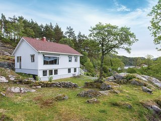 Stunning home in Farsund w/ 4 Bedrooms (NVK080)