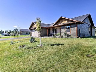 New home close to Glacier National Park, Whitefish Mountain Resort in Kalispell
