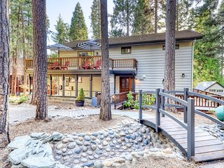 Cabin w/ game room plus shared pool, sports courts, private lake, & more!