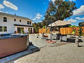 NEW! Glen Ellen House w/Hot Tub, Walk to Wineries!