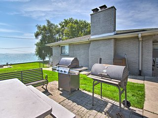 NEW! Ira Township Apt. w/ Dock on Lake St. Clair!
