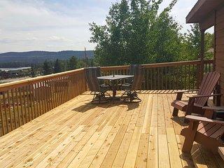 Grand Lake House w/Deck, Grill+Mountain View