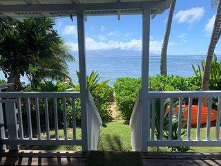 Beautiful Beachfront Home in Waialua - Aloha Hoʻokipa