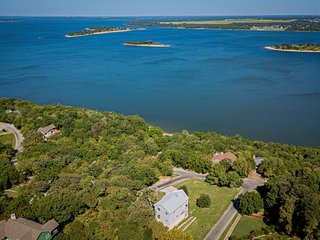 3 STORY HOME WITH THE BEST VIEWS OF LAKE TEXOMA
