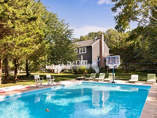Dog-friendly home w/ a private pool, gas grill, tree house, & large yard