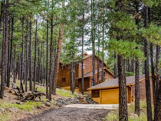 Beautiful and unique cabin surrounded by pines - Dogs ok!