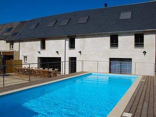 Au jardin de Capucine, grand gite avec piscine et sauna en Normandie