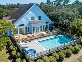 Avoca Blue | Sound Front | Dog Friendly, Private Pool, Hot Tub | Corolla