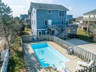 Sea Scapes | 817 ft from the beach | Dog Friendly, Private Pool, Hot Tub | Corol