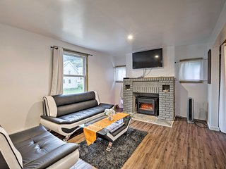 NEW! Gloversville House w/ Fireplace & Essentials!
