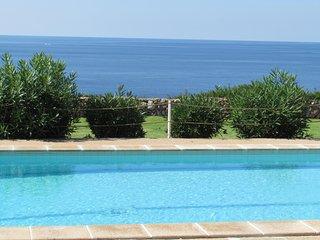 VILLA HELIOS- Villa on the seafront and cliff. Cala Pi. Private pool,AIR CONDITI
