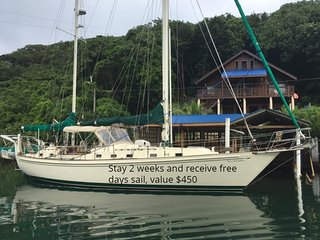 Blue Rock Vacations Upper, East End Roatan,  Special offer Free day sailing $450