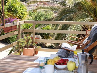bluAlghero accommodation: cottage with panoramic terrace