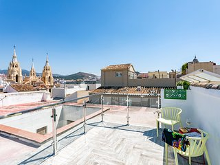Quite 1 bedroom apartment in Malaga Centre