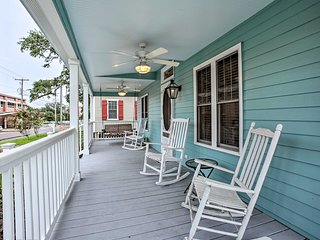 NEW! Cottage w/ Porch - 3 Min Walk to Bay St Louis