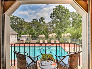 NEW! Lake Allatoona Area Studio w/ Pool and Views!