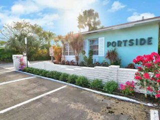 Step to Sand! Portside 2 - Queen Studio w/Full Kitchen ~ Walk to Bars & Restaura