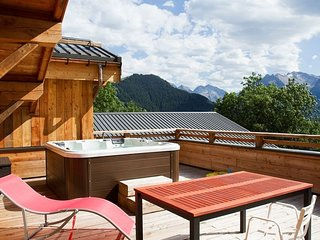 Super endroit | Chalet de montagne, Bain Bouillonnant + Wi-Fi Gratuit !