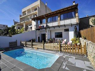 CA N'ANTONIA COSTA- Townhouse in Montuiri. Chimney. Families Pool. Air condition