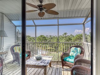 NEW LISTING! Waterfront condo near the beach w/ water views & shared pool!