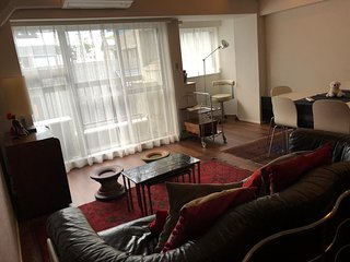 3 BR Design flat in heart of Akasaka