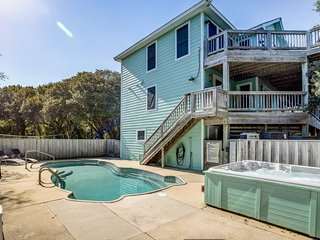 The Fishing Hole | 1250 ft from the beach | Dog Friendly, Private Pool, Hot Tub
