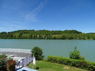 Appartement avec piscine - Vue sur le lac