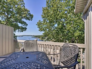 NEW! Osage Beach Condo w/ Pools & Boat Dock Access