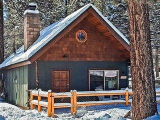 Walk to Snow Play! Posh & romantic w/fireplace, fenced yard, kitchen, dogs ok