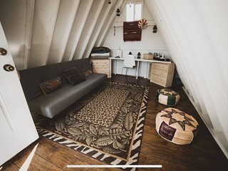Tiny A-Frame Glamping Shed On The Mountain