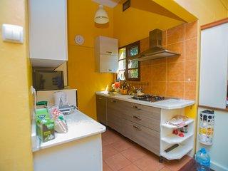 Comfortable villa with braai
