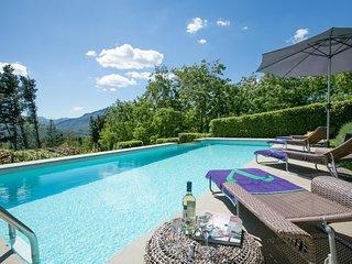 Piano di Coreglia-Ghivizzano Villa Sleeps 4 with Pool Air Con and WiFi - 5604625