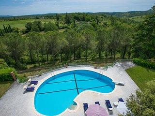 Campiglia Marittima Villa Sleeps 6 with Pool Air Con and WiFi - 5604620