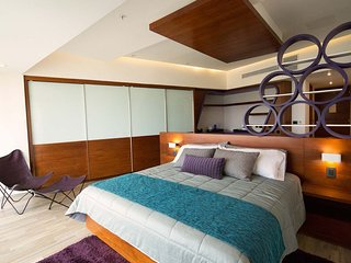 Confortables habitaciones en el Hotel Sonata, Lomas de Angelopolis, Puebla