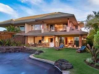 Private Luxury Estate Home w/ Pool & Spa, A/C, located within Mauna Lani Resort.