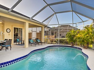 NEW! Port Charlotte Home on Canal w/ Lanai & Pool!