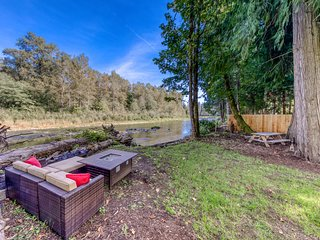 NEW LISTING! Newly renovated, riverfront retreat w/ fenced backyard! Dogs OK!