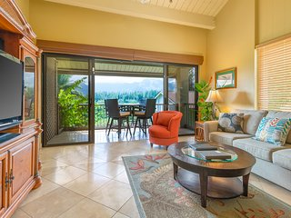Hanalei Bay Resort Unit 1537/1538 Amazing views from the lanai.  Quiet and AC!!