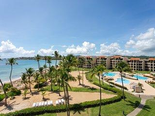 Prime Beachfront Penthouse, Ocean View Villa, Palmas Del Mar (CB250)