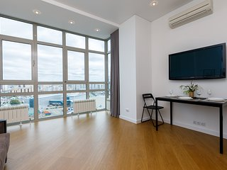 Apartment with panoramic river views in the center of Kazan