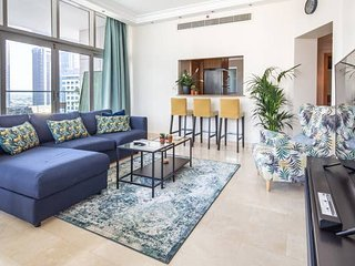 Modern + Premium 2BR with full Dubai Marina Views!