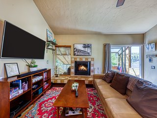 Cute cabin-style condo 1/2-mile from Giant Steps Ski Lodge - two dogs okay!