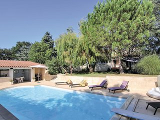 Awesome home in Montboucher sur Jabron w/ Outdoor swimming pool and 3 Bedrooms