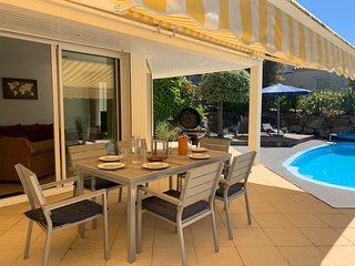 Villa 6 personnes, avec piscine